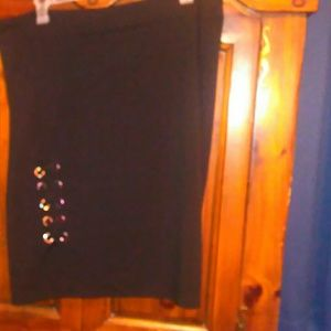 NWOT Avenue Skirt with Lace Up Detail